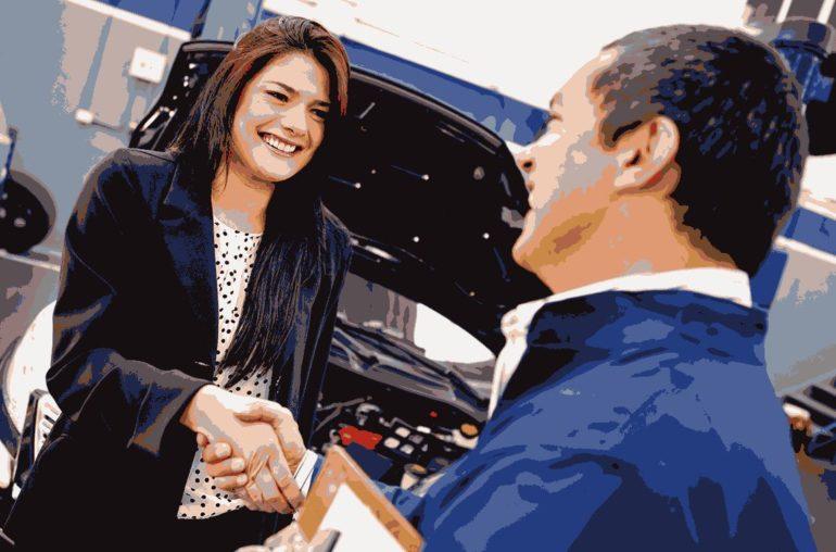 Auto Service Goes High-Tech